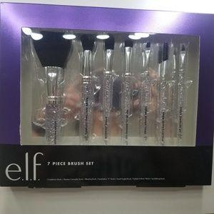 Elf makeup brush set 7 piece